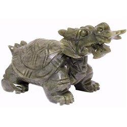 Фън Шуй Драконо-костенурка (нефрит)