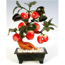 Фън Шуй Ябълково Дърво (нефрит и ахат)