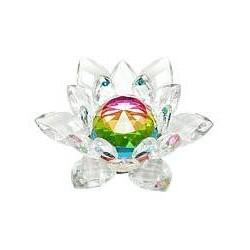 Фън Шуй Лотос (кристал, цветен)
