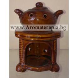 Арома Лампа за Ароматерапия - Камина (Малка) ARL08