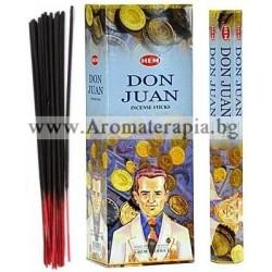 Фън Шуй Ароматни Пръчици - Дон Жуан (Don Juan) HEM Corporation