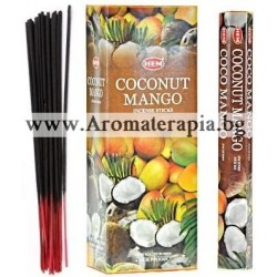 Фън Шуй Ароматни Пръчици - Кокосов Орех и Манго (Coconut-Mango) HEM Corporation