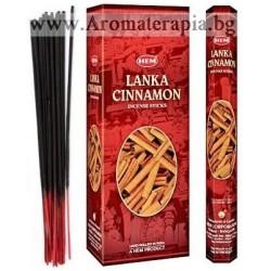 Фън Шуй Ароматни Пръчици - Шри Ланка Канела (Lanka Cinnamon) HEM Corporation