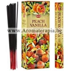 Фън Шуй Ароматни Пръчици - Праскова и Ванилия  (Peach-Vanilla) HEM Corporation