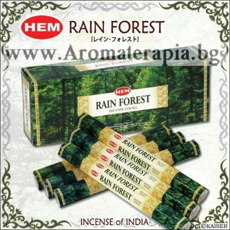 Фън Шуй Ароматни Пръчици - Дъждовна Гора (Rain Forest) HEM Corporation