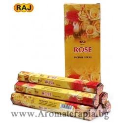 Фън Шуй Ароматни Пръчици - Роза (Rose) Raj Fragrance