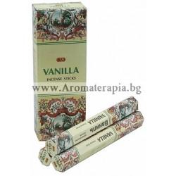 Фън Шуй Ароматни Пръчици - Ванилия (Vanilla) Raj Fragrance