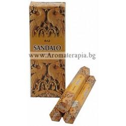 Фън Шуй Ароматни Пръчици - Сандалово Дърво (Sandalo) Raj Fragrance