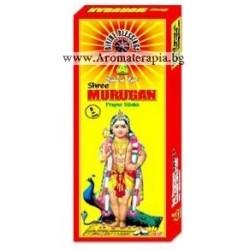 Фън Шуй Ароматни Пръчици - бог Муруган - покровител на воините и поетите (Murugan) Raj Fragrance