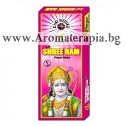 Фън Шуй Ароматни Пръчици - Шри     Рама - легендарният покорител на Ланка (Shree Ram) Raj Fragrance