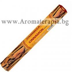 Фън Шуй Ароматни Пръчици - Канела (Cinnamon) Raj Fragrance