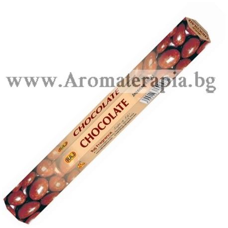 Фън Шуй Ароматни Пръчици - Шоколад (Chocolate) Raj Fragrance