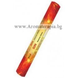 Фън Шуй Ароматни Пръчици - Слънце (Sun) Raj Fragrance