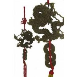 Фън Шуй Връзката на Трите монети с Дракон