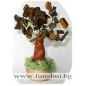 Фън Шуй Дърво на Мъдростта (Тигрово Око)